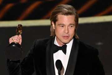 Untuk Pertama Kalinya Brad Pitt Bawa Pulang Piala Oscar